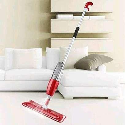 Spray mop with spare mop cloth image 1