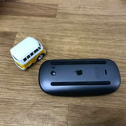 Apple Magic Mouse 2 Wireless Rechargeable -Black/Space Gray image 2