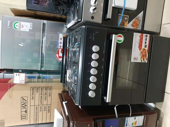 Master Chef Cooker 60*60, 3Gas 1Electric with Electric oven