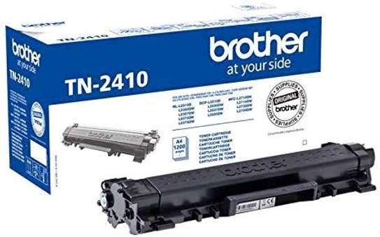 brother tn-2410 toner cartridge black only refill image 1