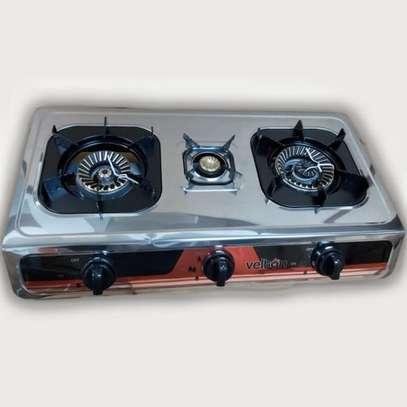 VELTON 3 Burner Heavy Duty Stainless Steel Gas Stove/cooker image 1