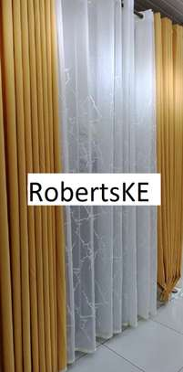 decorous stylish plain curtains image 2