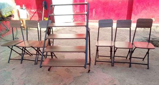 Convertible Table into Shelve image 5