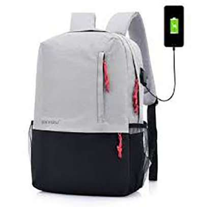 Antitheft Bags With Charging Port- Varying Colour image 2