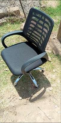 Mid-high ergonomic swivel chair image 1