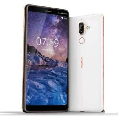 "Nokia 7 Plus Smartphone: 6.0"" Inch - 4GB RAM - 64GB ROM - Dual 12MP+13MP Camera image 1"