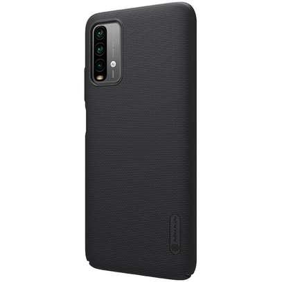 Redmi 9T Nillkin Superfrosted Shield Matte Cover Case,Black image 4