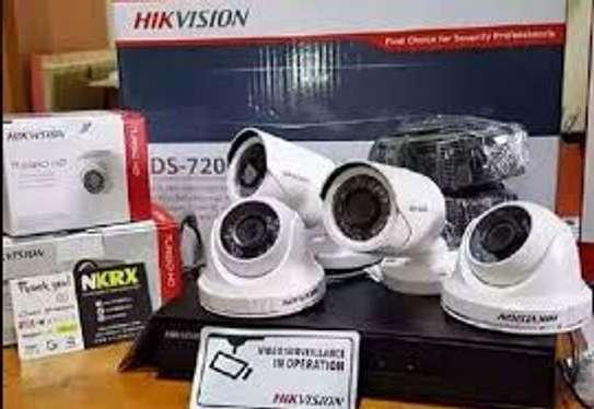 4 CCTV CAMERA FULL SET (Ready for Installation) image 5