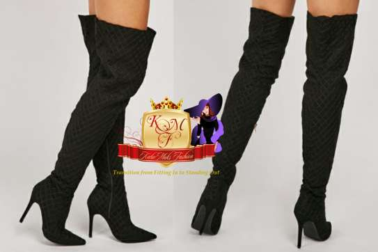 Thigh High Boots From UK. image 3