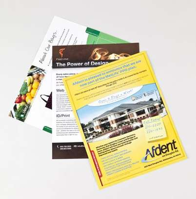Flyer Design and Printing