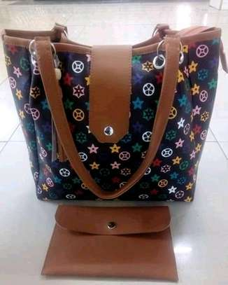 Ladies ring handbag, multicolored image 1