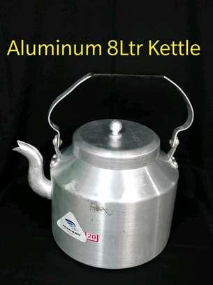 8ltrs aluminium kettle image 1