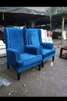 Functional Simple Modern Quality Wingback Chairs image 1