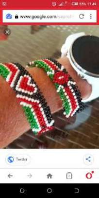Bracelet (any design), lotion and braids
