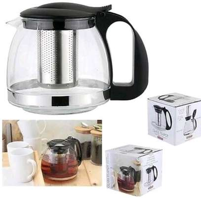 Stailess steel infusions tea pots image 1