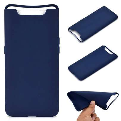Silicone case with Soft Touch for Samsung A80 image 3