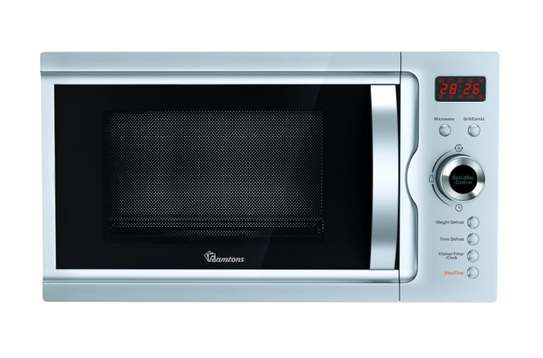 23 LITERS MICROWAVE+GRILL SILVER- RM/497 image 1