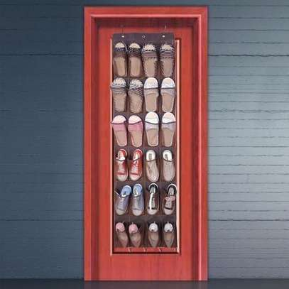 Description: Perhaps you still worried about how to store your cluttered shoes. This 3 tier shoe rack is your best bet, heavy-duty to hold shoes. Non-woven fabric material, anti-dust and breathable, have fine protection to your shoes, excellent for your long-lasting use, the tough materials offer the best bearing capacity.  Features: The steel and PP struts ensure it's very sturdy and durable to use. Non-woven fabric material, anti-dust and breathable, have fine protection to your shoes. No special tools required for this shoe rack, just simply snap each tier together. Space-saving, has enough space for you to store all types shoes, such as sports shoes, high-heeled shoes, slippers and more. Lightweight and compact, easy to move and clean, make your home more organized.  Specification: Condition: 100% New Material: Steel + PP + Non-woven Fabric Whole Size: Approx. 46 x 25.5 x 37.5cm / 18.11 x 10.04 x 14.76inch Weight: Approx. 377-386g  Package Included: 1 x Shoe Rack (Shoes and books are not included)  Note: Please allow slight deviation for the color and measurement. Thanks for your understanding. image 1