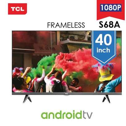TCL  40 inch Frameless Smart Android Smart TV image 1