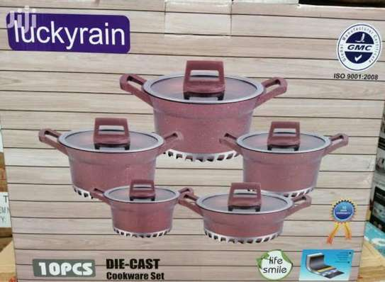 Luckyrain 10pcs cookware set image 2
