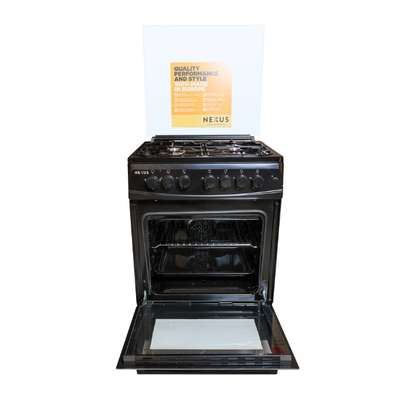 NXK-6001 (4+0), 4 Gas, Gas Oven - Black image 1