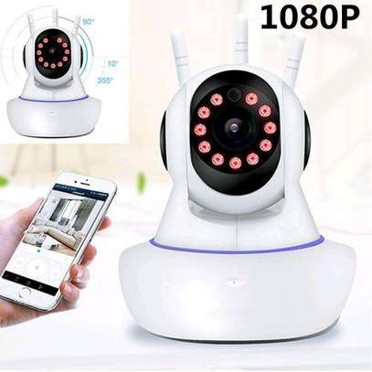 1080P Wireless Wifi Baby Security Panoramic Night Vision Monitor IP CCTV Camera image 1