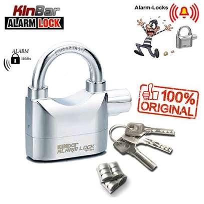 Alarm top security padlock image 1