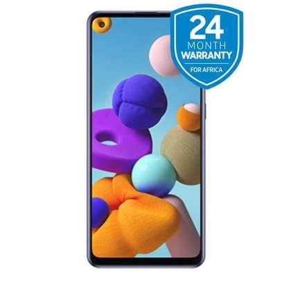 "Samsung Galaxy A21s, 6.5"", 64GB + 4GB RAM (Dual SIM), 4000 MAh, Blue image 1"