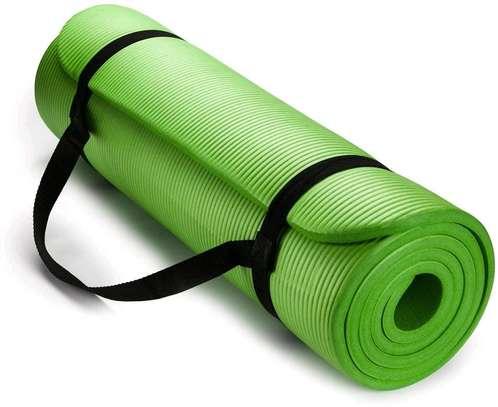 Green gym mats image 1