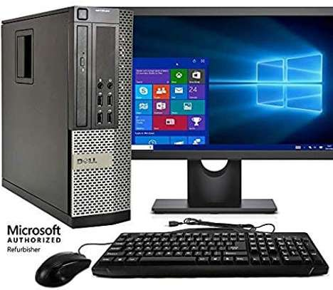 complete set core i7 dell desktop
