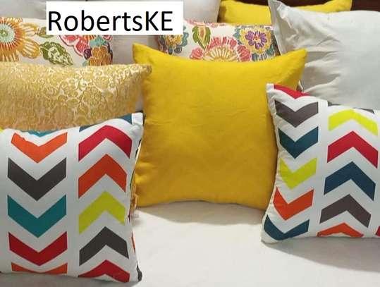 weyon patterned throw pillow image 1