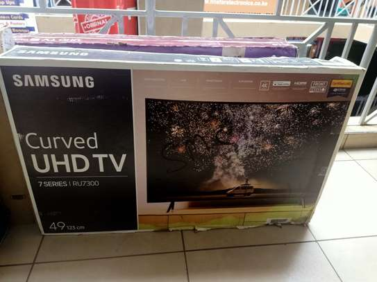 Samsung 49 curved 4k tv series 7 image 1