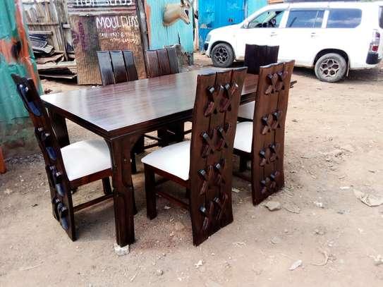 6 Seater Dinning set image 1