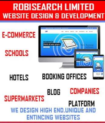 Website design for companies image 1