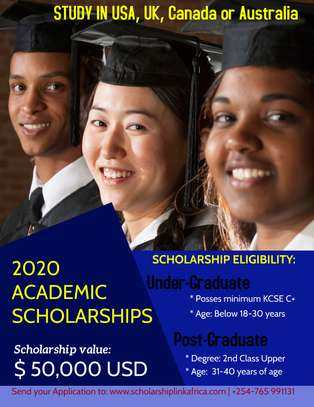 Full Scholarship Opportunity | Study In USA, UK, Canada & Australia.
