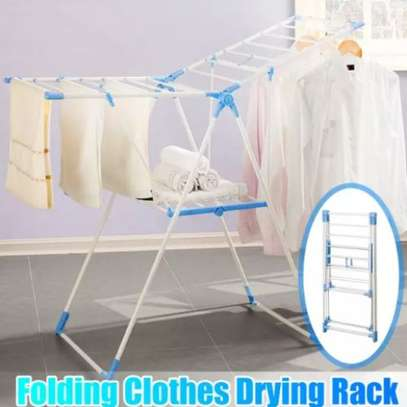 Adjustable Laundry Drying Rack For Clothes Hanger image 2
