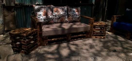 3 seater pallet sofa/3 seater sofa/pallet seats image 1