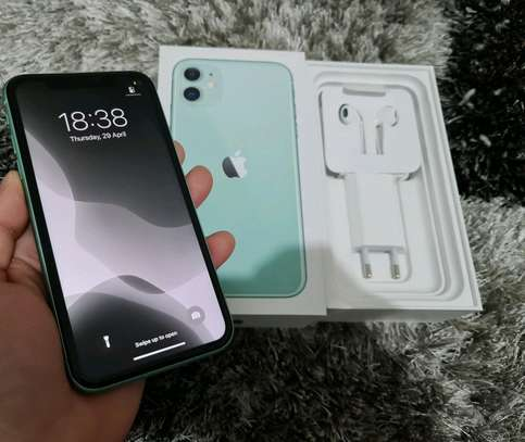 Apple Iphone 11 Green [ 256 Gigabytes ] image 2