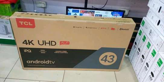 43 inch TCL smart Android UHD 4K IPS image 1