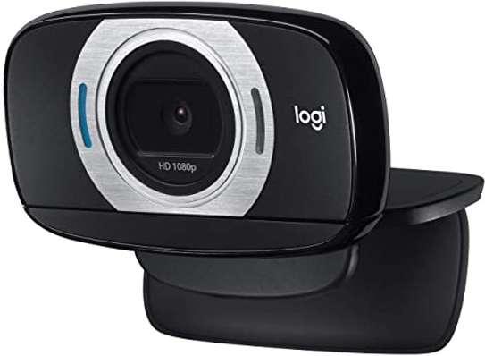 Logitech C615 Portable Webcam, Full HD 1080p/30fps, Widescreen HD Video Calling, Foldable, HD Light Correction, Autofocus, Noise Reduction, For Skype, FaceTime, Hangouts, PC/Mac/Laptop/Macbook/Tablet image 2