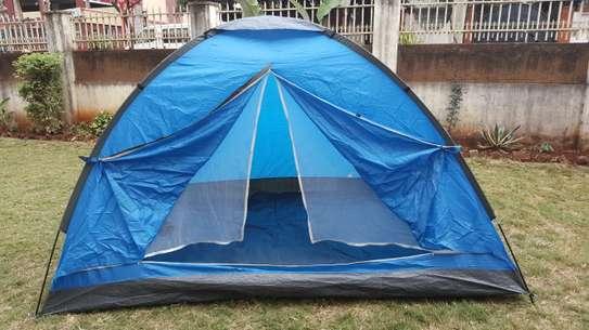blue weekender camping tent