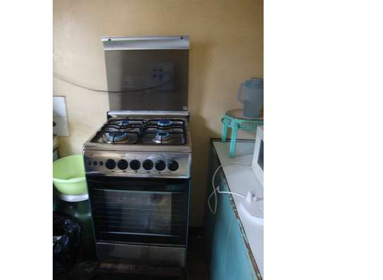 Hotpoint large gas cooker