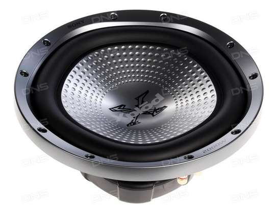 12-inch Subwoofer Sony 2000w Xs-gtr121ld Double Coil image 1