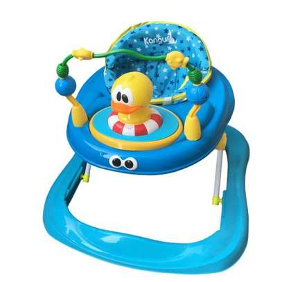 Generic Baby Walker With Music(Print And Cartoon Design May Differ) image 1