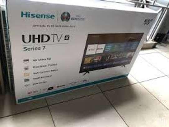 """Hisense 55B7100- 55"""" UHD 4K LED Smart TV - Black image 1"""