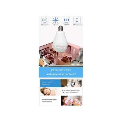 Panorama Nanny Bulb Camera With WIFI image 6