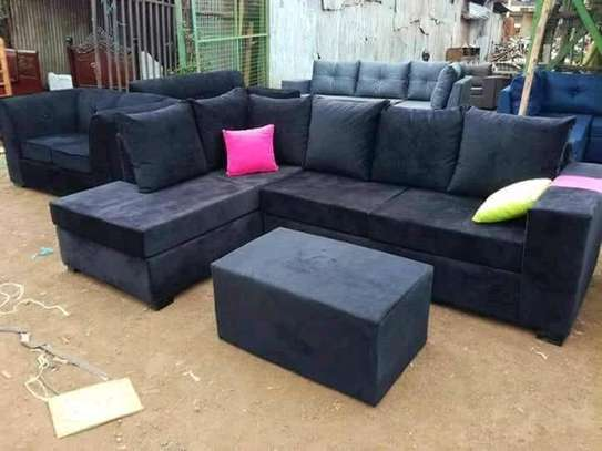 6 Seater L Shape  Sofa