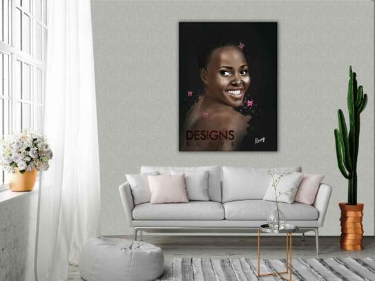 Perfect Portrait Paintings on Canvas Material image 2