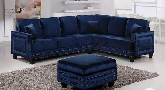sofas/L shaped sofa with puff/L shaped sofa/modern sofas/modern L shaped sofa image 1