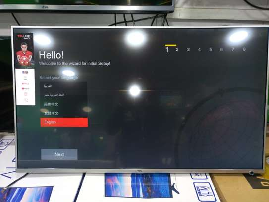 """43"""" Tcl 4k UHD Android TV image 1"""